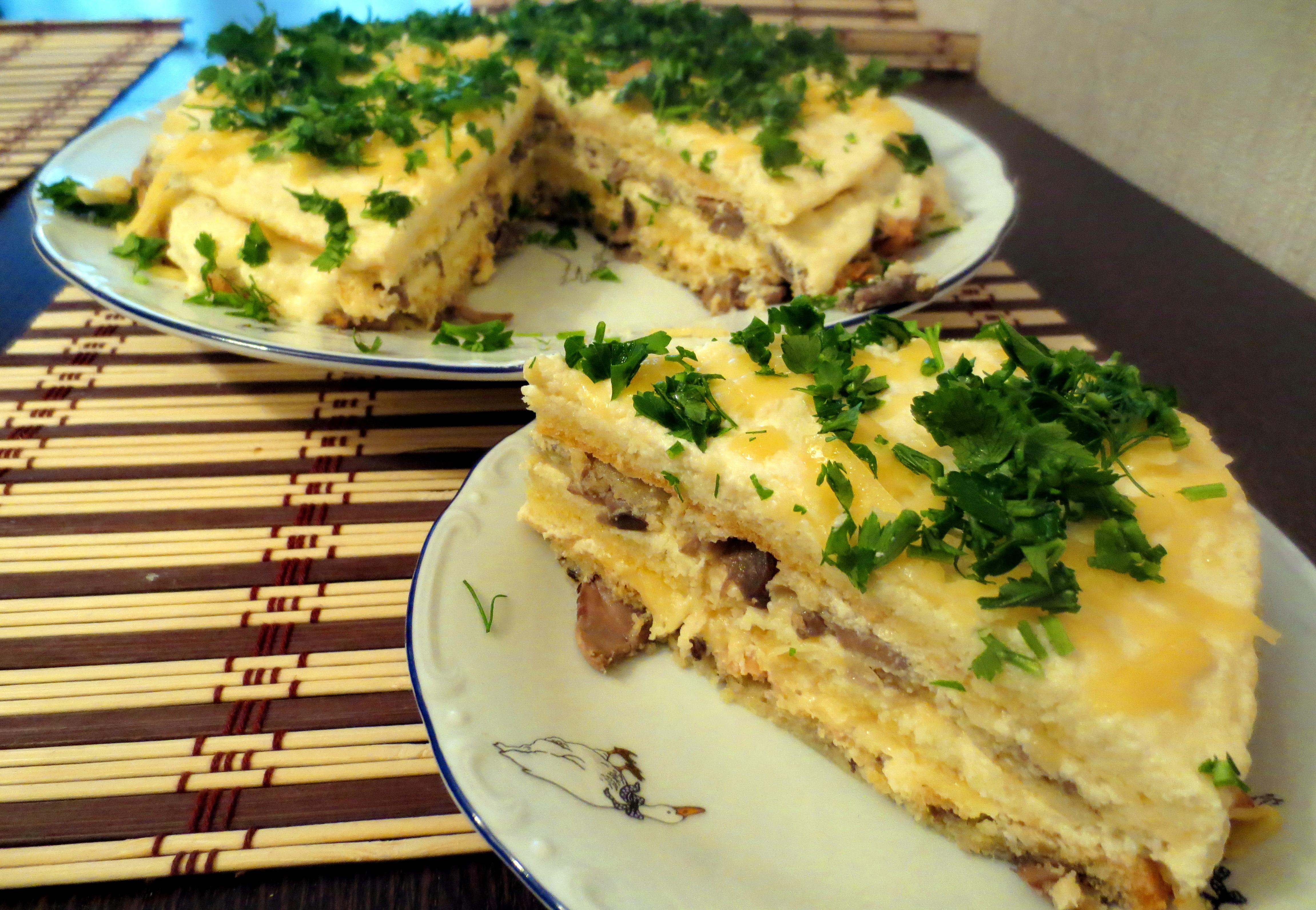 жареные грибы с сыром рецепт с фото