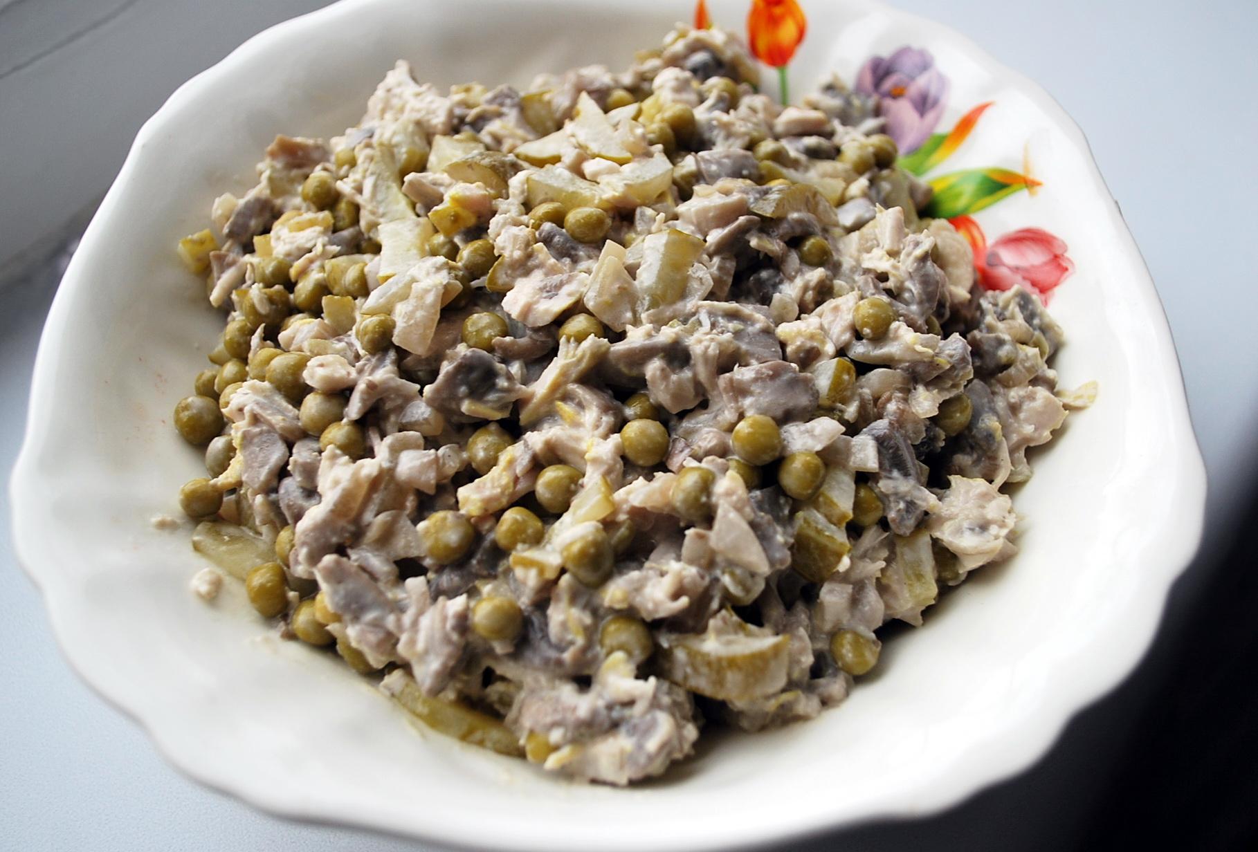 Салаты курица с грибами рецепты с простые и вкусные 123