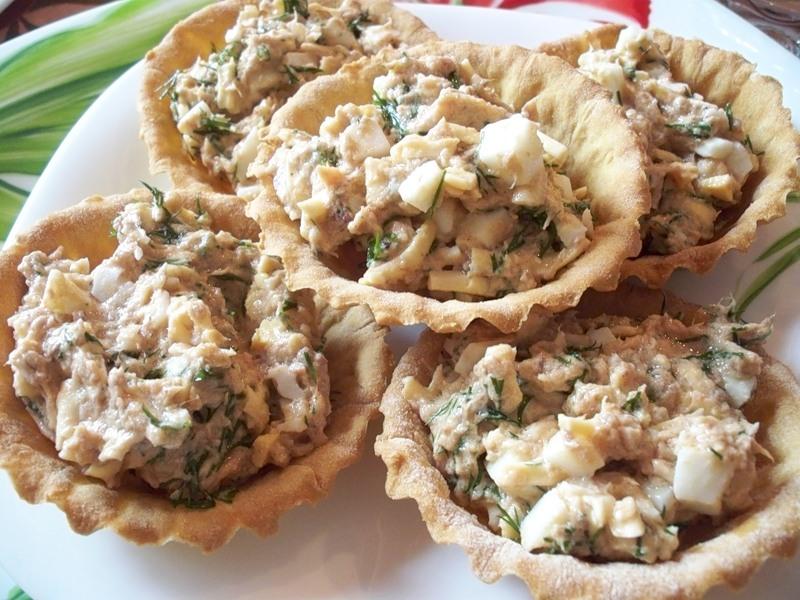 паста с консервированным тунцом рецепт с фото