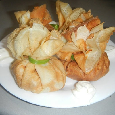 Рецепт блинчиков с начинкой из курицы с фото