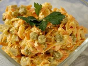 рецепты для застолья с фото салаты
