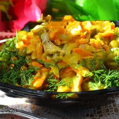 Салат Купеческий со свининой: пошаговый рецепт с фото