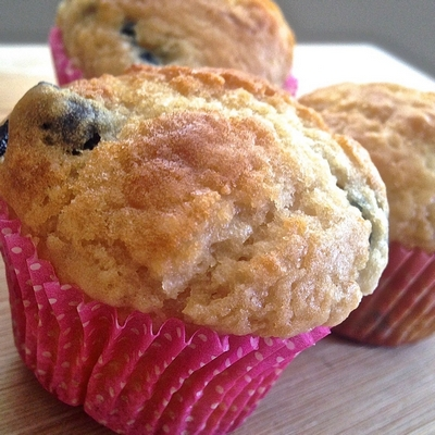 blueberry-muffins