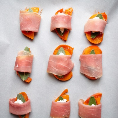prosciutto-wrapped-persimmons-with-chvre