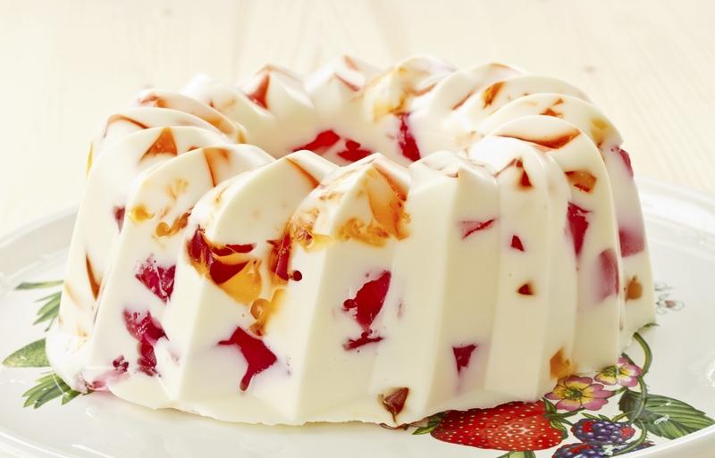 Торт желе