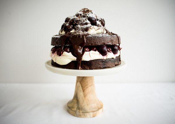Торт своими руками на день Рожденья ребенка: торт Темный лес