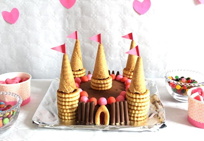 Торт своими руками на день Рожденья ребенка: торт Замок