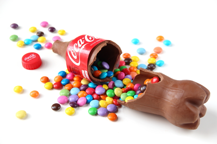 Торт шоколадная бутылка кока-колы
