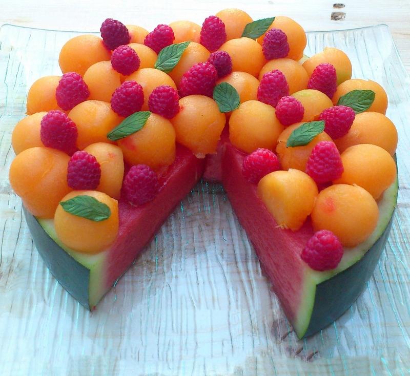 Торт из фруктов